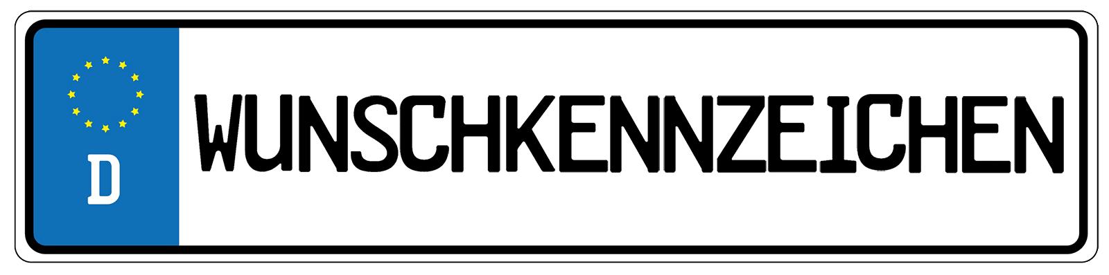 Wunschkennzeichen reservieren in München