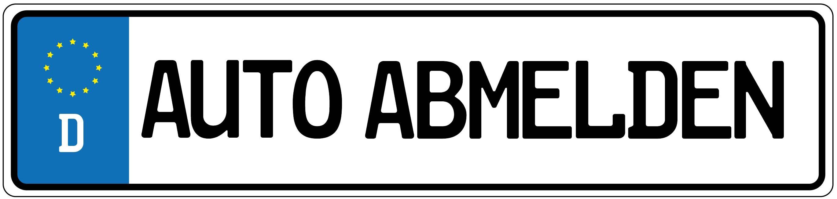 Auto Abmelden Kfz Zulassungsstelle